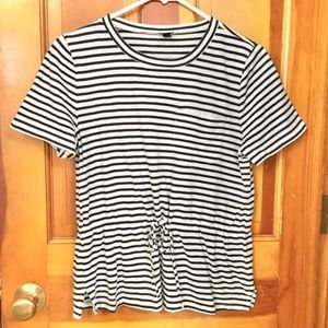 WOMEN'S J-Crew Striped Shirt SIZE M
